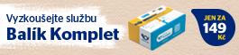 Balík Komplet Česká pošta